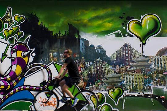 Kopenhagen ist die Stadt für Radfahrer in Europa