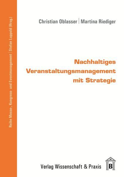 Buchcover Nachhaltiges Veranstaltungsmanagement mit Strategie